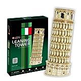 3D Puzzle Sehenswürdigkeit Leaning Tower Schiefer Turm von Pisa 13 Teile