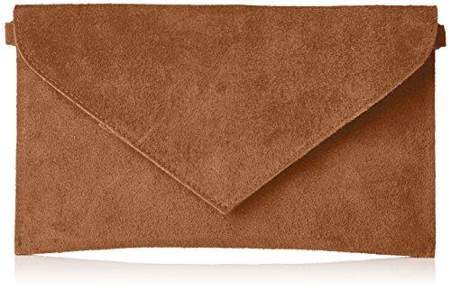 Bags4Less Damen Venedig-Wild Clutch, Braun (Braun), 2x18x28 cm