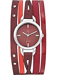 Go Girl Only Damen-Armbanduhr Analog Quarz Leder 698523