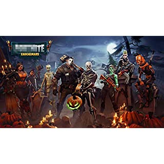 Next Stop Battle Royale Game Silk Poster (Without Frame) Wall Decor 24x36 inches Fort Fortnite Players Lovers (FORT-POSTER-14)