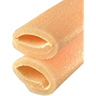 CHIROPODY TOE FOAM / TUBULAR FOAM / CORN AND BUNION PROTECTORS 1 x 25CM LENGTH WITH OVERLAP SIZE CX 21MM