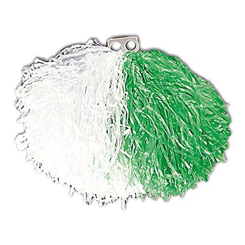 Widmann 1093A - Pom Pom, weiß Ÿ/ grün (Cheerleader-grün)