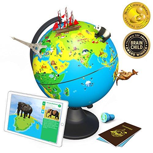 Shifu Orboot: Spielend die Welt kennen lernen | der pädagogische Augmented Reality Globus mit deutscher APP | STEM Spielzeug