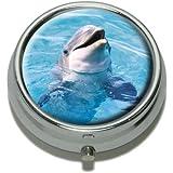 Dolphin Pill Case Trinket Gift Box