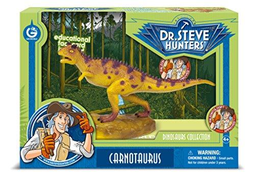 Cazadores Dr. Steve CL1554K - Colección de dinosaurios: Carnotaurus Modelo