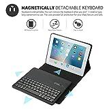 Aboutthefit Wireless Bluetooth Keyboard Case for Apple iPad Pro 9.7/Apple iPad Wifi 9.7
