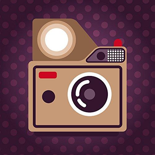 Apple iPhone 5s Housse Étui Protection Coque Photo Caméra Photographie Sac Downflip noir