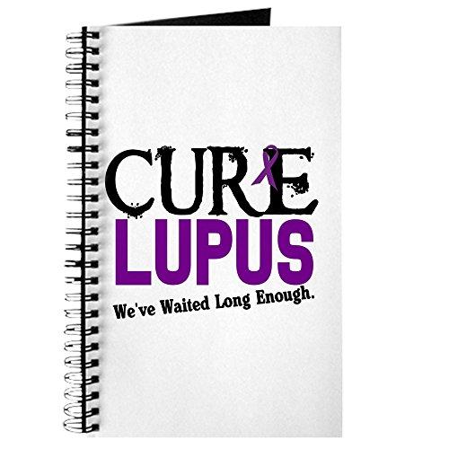 CafePress-Cure Lupus 3-Spiralbindung Notizbuch, persönliches Tagebuch, Dot Grid