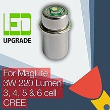 MagLite LED Aggiornamento/Conversione lampadina Torcia 3D/3C, 4D/4C, 5D, 6D Cella CREE CNC