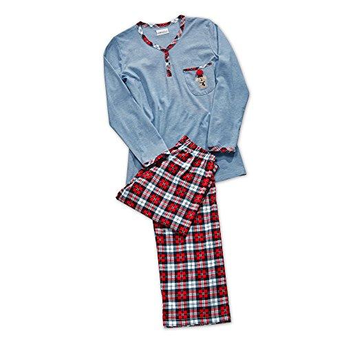 Ringella Damen Pyjama jeans-melange40 4411248 -
