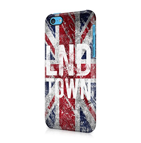 e iPhone 5C SnapOn Hard Plastic Phone Protective Fall Handyhülle Case Cover (Iphone 5c-london Fall)