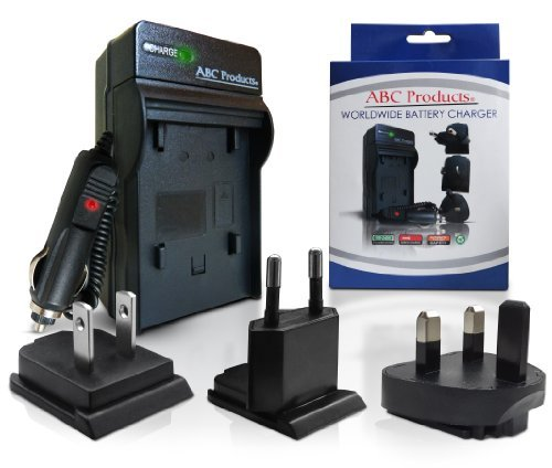 ABC Products Battery Charger for Sony NP-FM500H / M Series / BC-VM10 / NP-FM50 / NP-FM55H / NP-QM71 / NP-QM91 / NP-QM51 / NP-QM71D / NP-QM91D / NP-F550 / NP-F750 suits Alpha DSLR-A100 A200 A350 A500 A550 A580 A700 SLT-A57 SLT-A58 SLT-A65 SLT-A77 SLT-A99 Digital Camera etc World Travel Plug Version - UK/USA/Europe+  available at amazon for Rs.2598