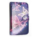 KAMAL STAR® HUAWEI ASCEND Phones PU Leather Card Flip Case
