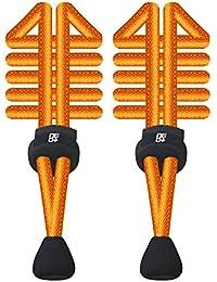 Paquetes de elástico redondo cordones de bloqueo para correr y triatlón–UK vendedor