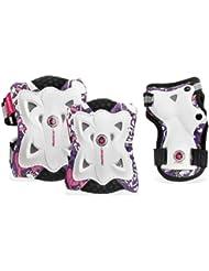 Powerslide 906012 Kit de protections pour enfant Pro Butterfly Blanc