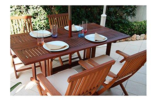 Tavoli da giardino in legno accessori per esterno for Amazon tavoli