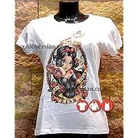 Biancaneve, maglia bianca, maglietta t-shirt, felpa, canotta, biancaneve e i sette nani, Disney Princess