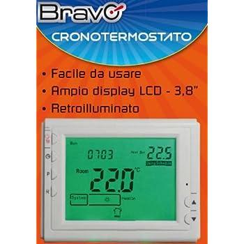 BRAVO cronotermostato settimanale digitale