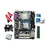 #10: Intel Core 2 Duo E8400 3.0 GHZ + Zebronics G41 Motherboard + 2 GB DDR3 RAM