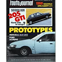 AUTO JOURNAL (L') [No 19] du 01/11/1984 - SOMMAIRE - ESSAIS - OPEL KADETT 1 3 S - PROTOTYPES - MERCEDES 200 - 300 - FORD SCORPIO - 50000 KILOMETRES - PEUGEOT 205 GTI - DOSSIER - LES ALARMES - VARIETES - UNE NOUVELLE RACE DE BERLINES - RUBRIQUES - LA TRIBUNE DES LECTEURS - A J INFORMATIONS - LE DROIT ET L'AUTO - PHOTO-CINE-SON - LE PRIX DES VOITURES NEUVES - LA COTE DES VOITURES D'OCCASION - LE TEMPS DE VIVRE - LA ROUTE BUISSONNIERE - SUR LE GRIL - LE SOLEIL EN HIVER - LENOTRE - UN NOM QUI FAIT S