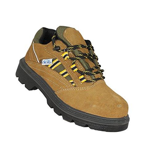 COFAN Model K1S1P Chaussures de trekking Chaussures de sécurité plat marron Marron