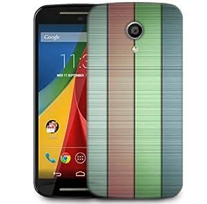 Snoogg Line Patterned Design Designer Protective Phone Back Case Cover For Motorola Moto G2