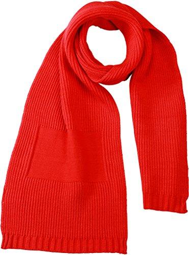 Myrtle Beach Schal Promotion Scarf, Light-Red, One Size, MB7995 lrd Preisvergleich