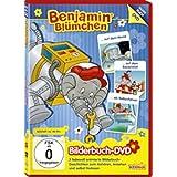 Benjamin Blümchen - ...auf dem Mond/...auf dem Bauernhof/...als Ballonfahrer - Bilderbuch-DVD
