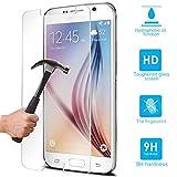 Huhuswwbin Pellicola Protettiva, Cover Proteggi Schermo in Vetro temperato AntiGraffio per Samsung Galaxy S3 / 4/5/6 Note3 4 5 - per Samsung Galaxy S6 Edge