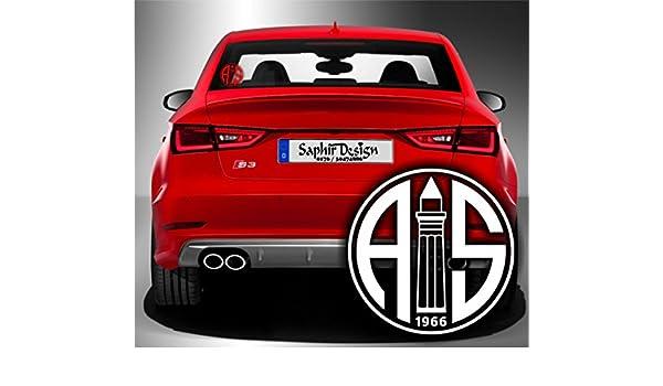 Antalyaspor Autoaufkleber A52 10x 10cm Hochleistungsfolie In Der Farbe Rot Küche Haushalt