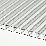 Greenhouse Cold Frame Cloche Polycarbonate Sheet x 10 @ 610 x 1220mm (ONLY AVAILABLE MAINLAND UK)