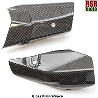 RSR Moto Ducati 1199Panigale 100% in fibra di carbonio di scarico calore Shields Cowls