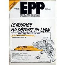 ECHO DE LA PRESSE ET DE LA PUBLICITE [No 1440] du 17/02/1986 - SOMMAIRE - AUDIOVISUEL - CONCESSION DE SERVICE PUBLIC A LA 5 - LE SENAT A RENDU SON RAPPORT - PRESSE - UNE VINGTAINE D'INVESTISSEURS SUR LES RANGS POUR CONTRIBUER AU DEVELOPPEMENT DU MONDE - LES PETITS CESAR D'OPERETTE - EXERCICE 84 NEGATIF POUR LE MENSUEL DROIT ET LIBERTE - LE PROVENCAL LANCE LE LOTO SCRATCH - VA-ET-VIENT - PUBLICITE - A TRAVERS LES AGENCES - STIMUL EMOTION ET CORYPHE - CAMPAGNE - MAZDA BDDP - VA-ET-VIENT - NEW BU