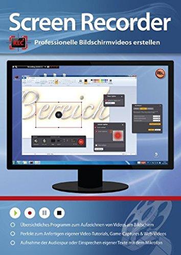 Screen Recorder - Professionelle Bildschirm Videos erstellen für Video-Tutorials, Game-Captures & Web-Videos
