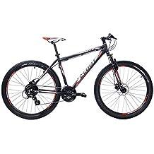 Cloot Bike - Bicicleta de montaña-Mountainbike 27.5-MTB -Xr trail 70R Shimano 24 velocidades, Horquilla Bloqueo, Aluminio 6061, Frenos disco Shimano, Geax Aka.