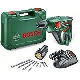 Bosch UNEO - Taladro, atornillador y martillo (10,8 W, 10,8 V) color verde