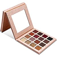 Lorjoy IMAGIC Shimmer Eyeshadow Palette 16 Colores Mate Smokey Eye Powder Glitter Palette Make Up Beauty Set con Espejo