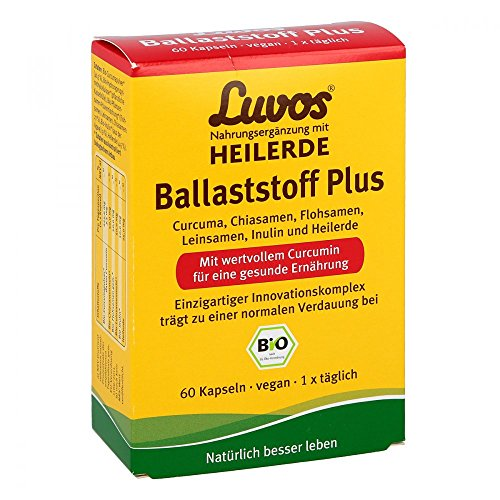 Luvos Heilerde Bio Ballaststoff Plus Kapseln 60 stk