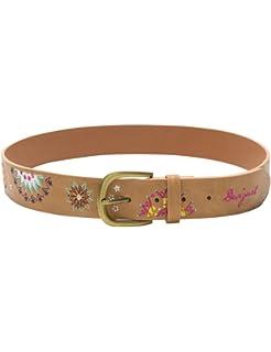 f752413eaf1 Desigual ceinture 18sarp17 amelie marron  Amazon.fr  Vêtements et ...