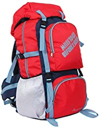 "POLE STAR "" ROCKY "" 60 Lt Red Rucksack I Hiking backpack"