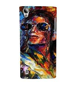 EPICCASE MJ oil painted Mobile Back Case Cover For Vivo Y15 (Designer Case)