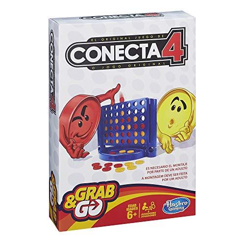 Hasbro Gaming - Juego Viaje Conecta 4 Hasbro Spain