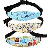 Z-Chen 3er Pack Baby Nackenstütze Kopfstütze für Auto Kindersitze Sicherheitsgurt für Fahrrad...