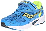 Scarpa da running Cohesion 8 Alternative Closure (Little Kid / Big Kid), Blue / Citron, 10.5 W US Little Kid