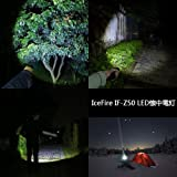 IceFire® Z50 LED Flashlight Torch 1000LM CREE XM-L T6 Zoomable Focus Adjustable Beam 5 Mode Torch Light Bild 5