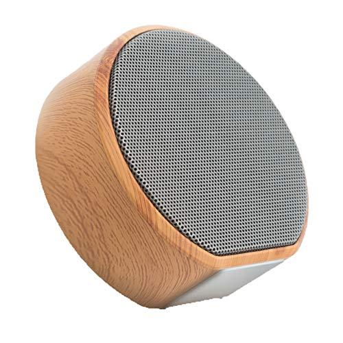 KXDN Mini Bluetooth Redner tragbar Holzmaserung Redner TF-Karte abspielen intelligent Mobiltelefon eben Computer Musik- Spieler Haushalt,2