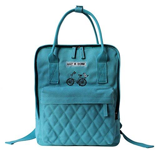 La signora zaino letteraria/borsa a tracolla portatile/sacchetto multifunzionale Collegio Vento-C B