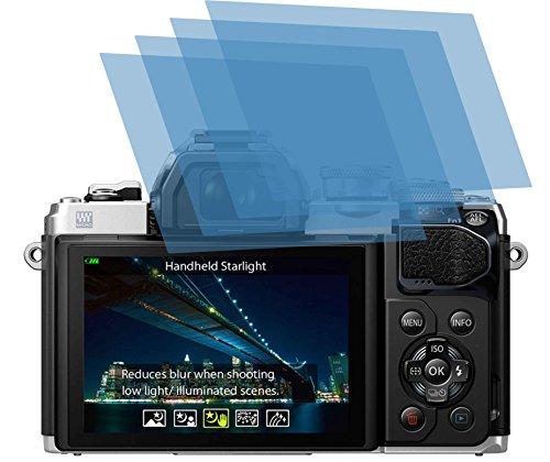 4x ANTIREFLEX matt Schutzfolie für Olympus OM-D E-M10 Mark III Displayschutzfolie Bildschirmschutzfolie Schutzhülle Displayschutz Displayfolie Folie