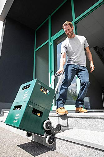 Kraft Werkzeuge Stufen- & Treppenklappkarre Transportkarre Treppensteiger 70kg -