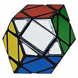 Diamant Zauberwürfel Six-axis Zwölf Ridge Coolzon® Spezial Twist Würfel Diamond Geschwindigkeits PVC Aufkleber, Schwarz